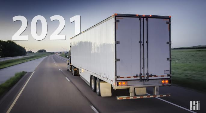 2021 Trucking Outlook Comes Into Focus