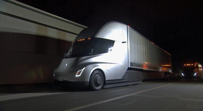 Analysts: Tesla Semi A 'Distraction'