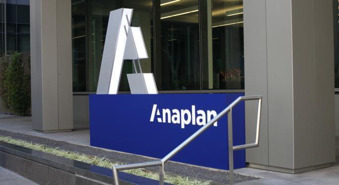 Morgan Stanley Upgrades Anaplan On Improving Demand, Execution Consistency