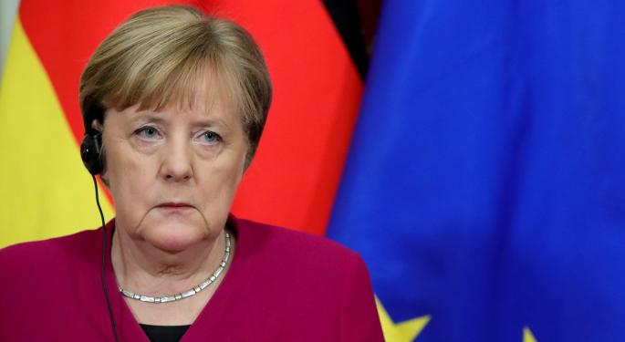 Car Crashes Into Angela Merkel's Office Gate: Reuters