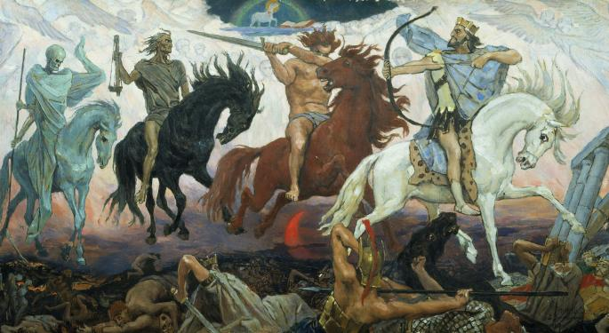 'Four Horsemen' Driving The Retail Trading Euphoria: SPACs, Stonks, Cryptos And NFTs