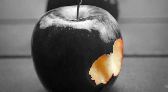 Bad Apple News For Qualcomm