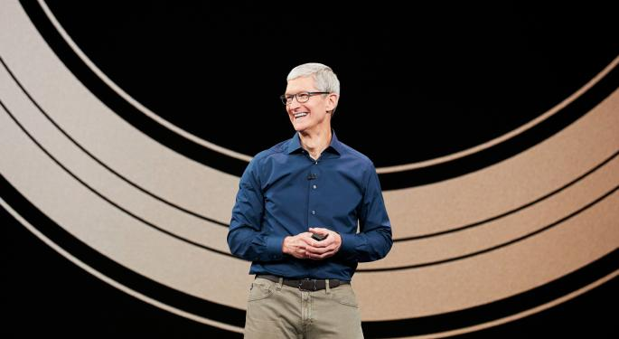 Apple's Tim Cook Takes On Silicon Valley, Bloomberg
