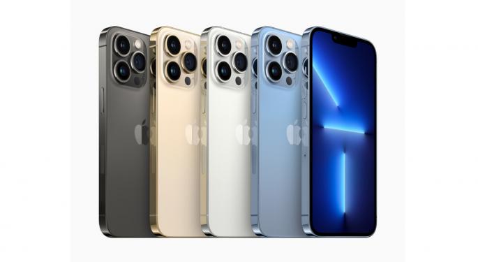 Créditos de las telefonías para adquirir el iPhone 13 de Apple