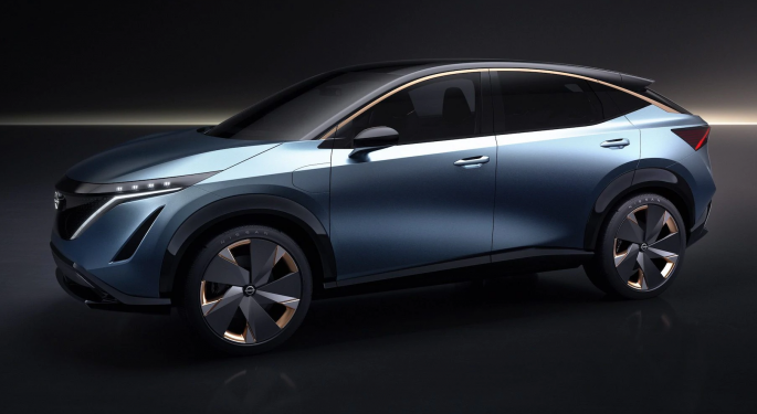 Nissan's Answer To The Tesla Model Y — The Electric Crossover Ariya — To Premier July 15