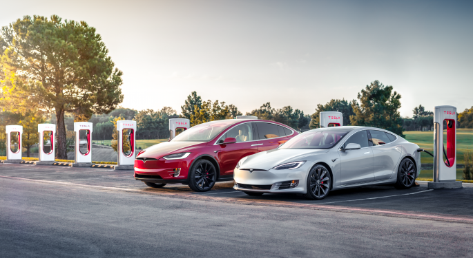 Upcoming Tesla Software Update 2020.36 Allows Cars To Read, Adjust To Speed Limit Signs