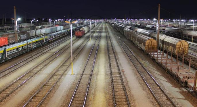 US Rail Volumes Fell Over 20% In April