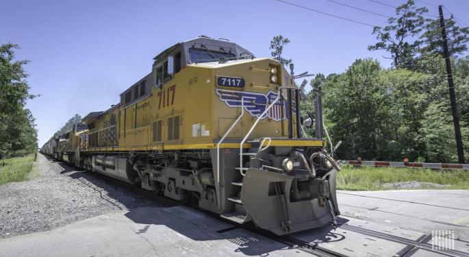 US Rail Volumes Inch Higher Sequentially