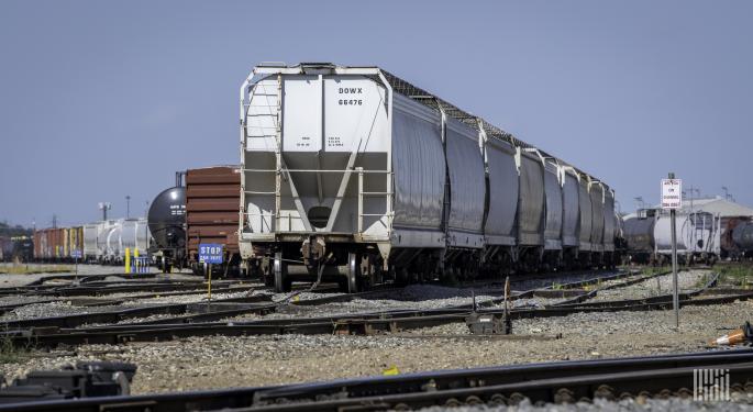 US Rail Volumes Still Under Pressure