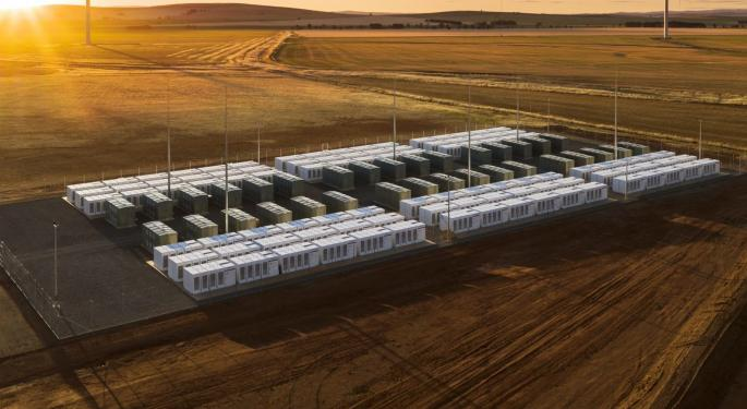 Tesla And PG&E To Build World's Largest Battery Farm