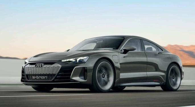Audi Challenges Tesla With New Electric Sedan E-Tron GT