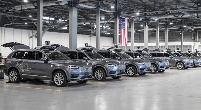Uber Sells Autonomous Driving Unit To Aurora
