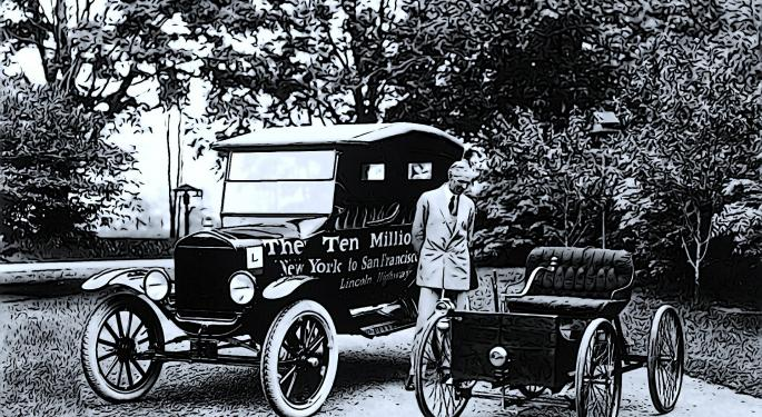 This Day In Market History: Ford Sets $5 Per Day Minimum Wage