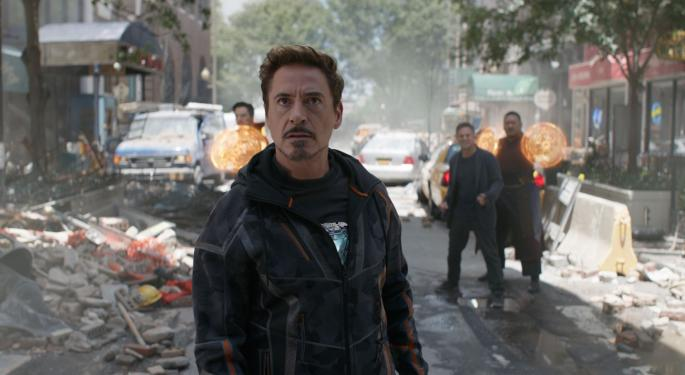 Disney's 'Avengers: Infinity War' Becomes Fourth Film In History To Make $100M In Second Weekend