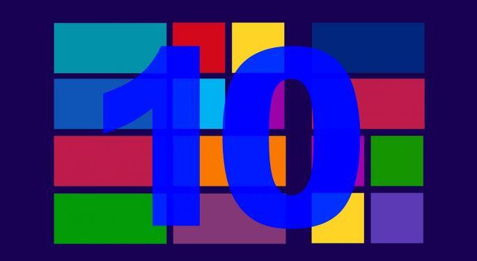 FBR's Ives Loving Microsoft After Windows 10 Event