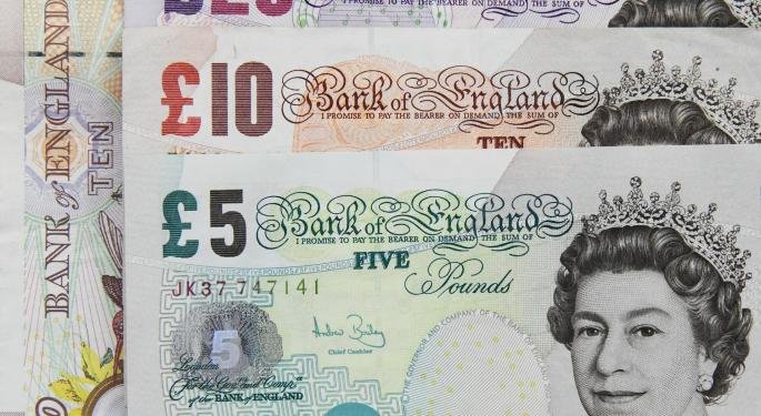 Pound Sterling Swings As Brexit Talks Heat Up