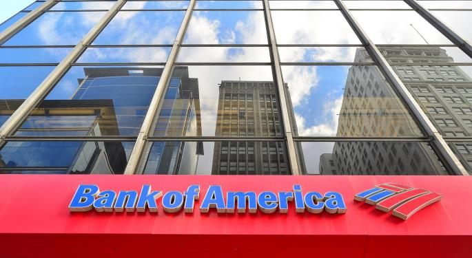 Here's How Much Investing $1,000 In Bank Of America At Great Recession Lows Would Be Worth Today
