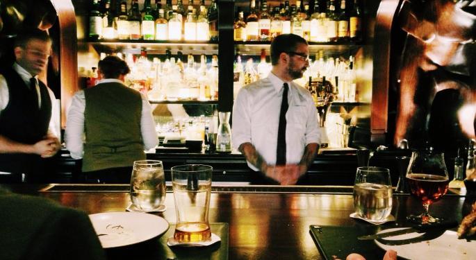 Bar & Grill Has Been The Weakest Segment In Restaurants