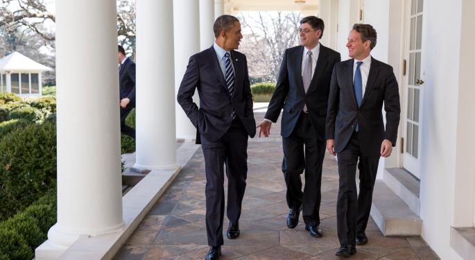 U.S. Treasury Secretary Jack Lew Talks Greece, China