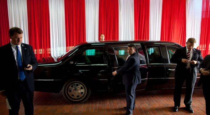Blood, Sweat And Tear Gas: Trump's 'Cadillac One' To Debut Next Week