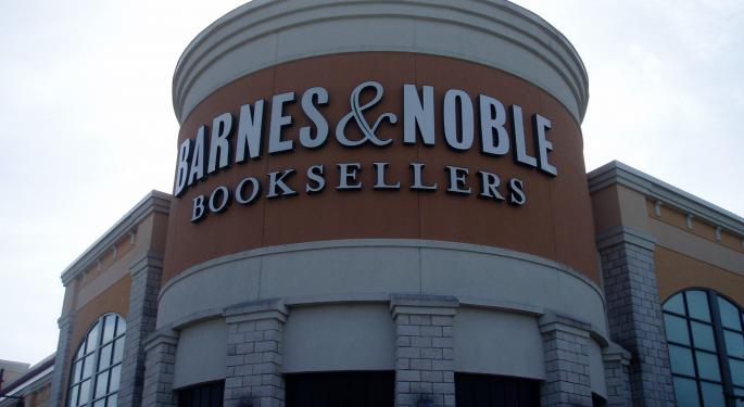 Activist Investor Urges Barnes & Noble To Sell, Argues $1 Billion Price Tag A 'Rounding Error' For Potential Buyers
