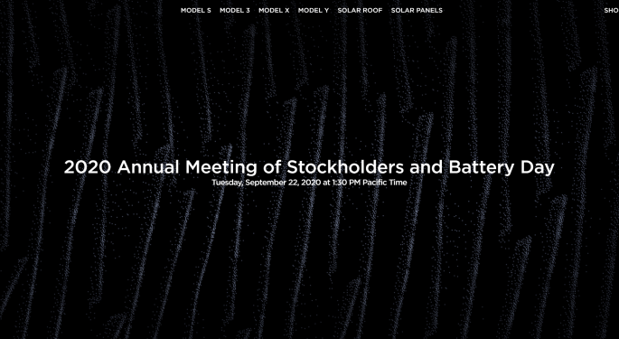 Tesla's Battery Day Invite Reveals Potential Clue Of What's To Come