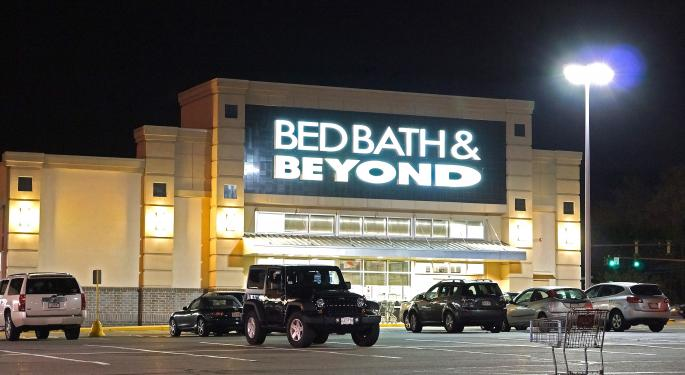 KeyBanc Downgrades Bed Bath & Beyond On Valuation, Competition
