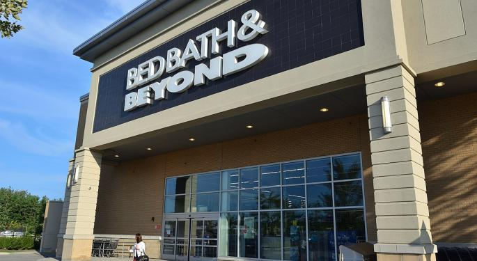 Why Bed Bath & Beyond's Stock Is Trading Higher Today
