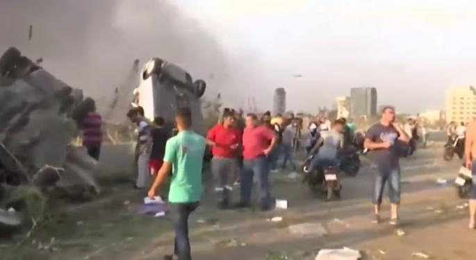 Explosion Near Beirut's Port Injures Thousands