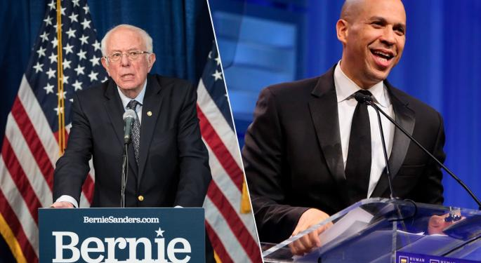 Bernie Sanders And Cory Booker On What Legal Marijuana Would Mean For People Of Color