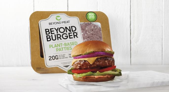 Beyond Meat Gains After Announcing Major Walmart Expansion