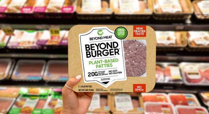 ¿Por qué Beyond Meat cotiza a la baja hoy?