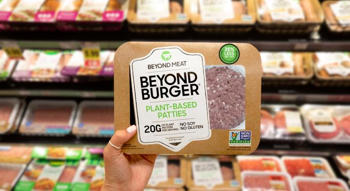 Beyond Meat Scores Lucrative Supply Deals With McDonald's, KFC, Pizza Hut, Taco Bell