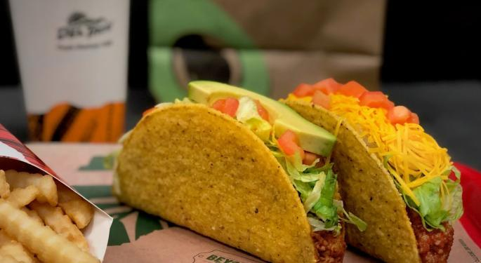 Why Del Taco's Stock Is Trading Higher Today