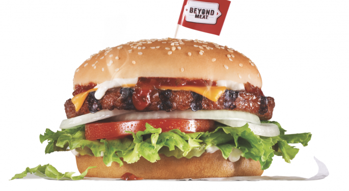 Why Beyond Meat's Stock Is Trading Higher Today