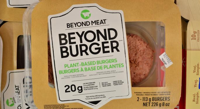 As Stock Plunges, Beyond Meat CEO Says Relationship With McDonald's 'Very Strong'