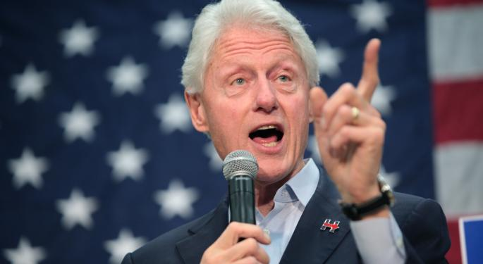 Bill Clinton Joins Presidential Podcast Playlist, Signs With iHeartMedia