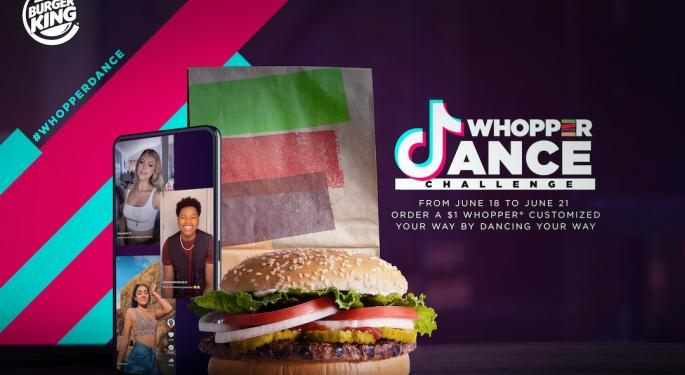 The TikTok Whopper Challenge Is Here And Everyone Is A Winner