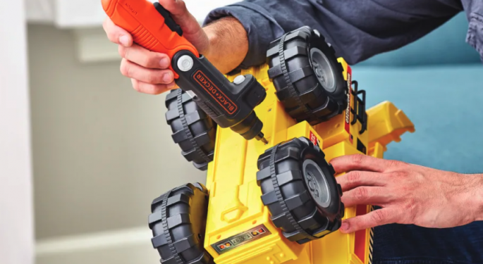 Power Tools and Stimulus Fuels Stanley Black & Decker Upgrade