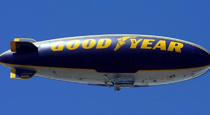 Longbow Downgrades Goodyear On Price, Mix Headwinds