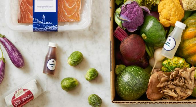 Blue Apron's CEO Change Could Be A Recipe For Stabilization; Barclays Upgrades