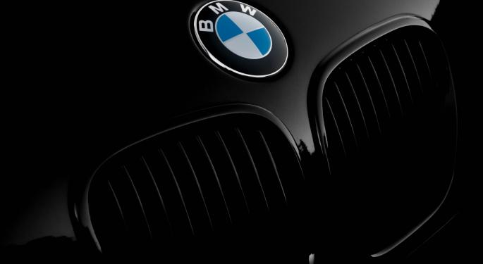 BMW Group Q1 Sales Tumble