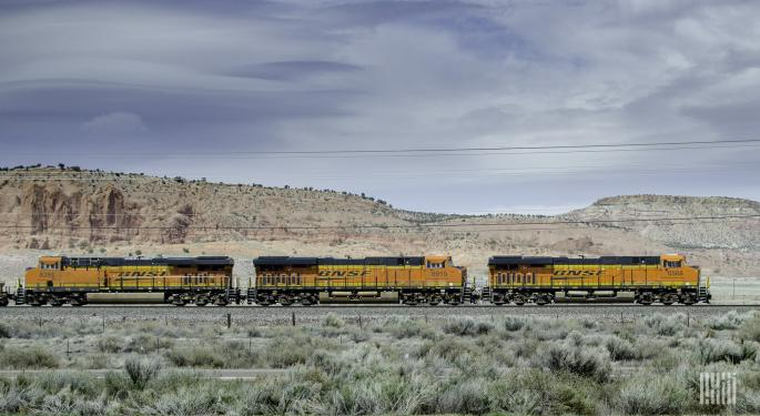 Coal, Petroleum And Sand Drive BNSF's Operating Revenues Lower
