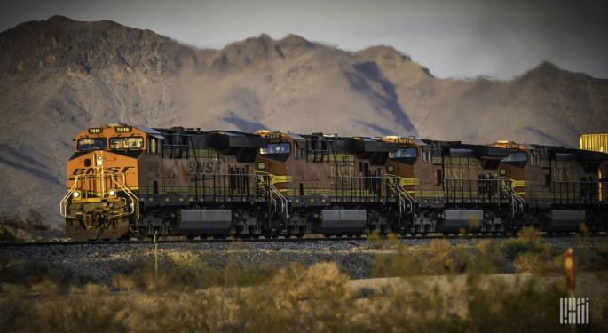 BNSF's Q2 Net Earnings Fall, But Operating Ratio Improves