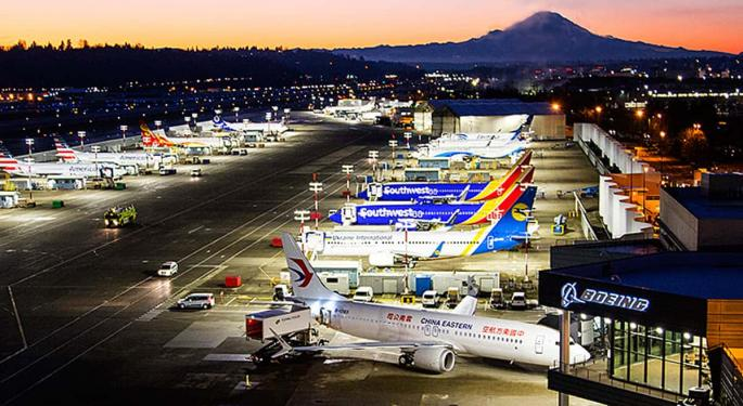 Boeing Shuts Down Assembly Lines In Response To Pandemic