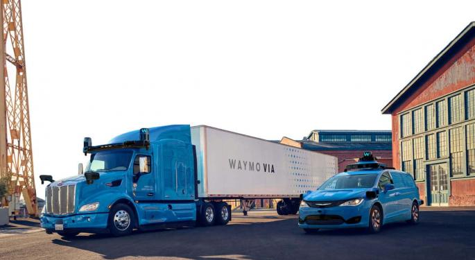 Fiat Chrysler And Waymo To Make Commercial Self-Driving Vehicles