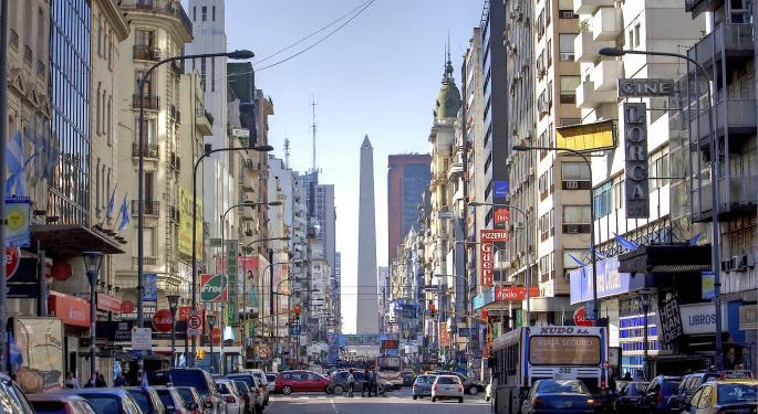 How Option Traders Are Playing Grupo Financiero Galicia Following Argentina Market Crash