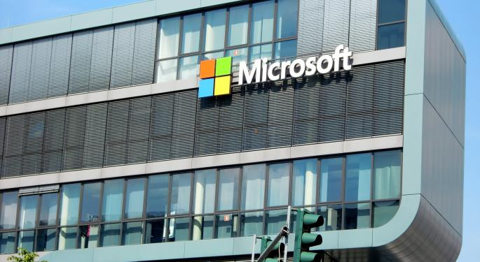 Chip Stocks Fall On Report Microsoft Will Take Things In House
