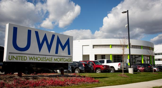 Credit Suisse Bullish On UWM Holdings, Sees 31% Total Return Potential