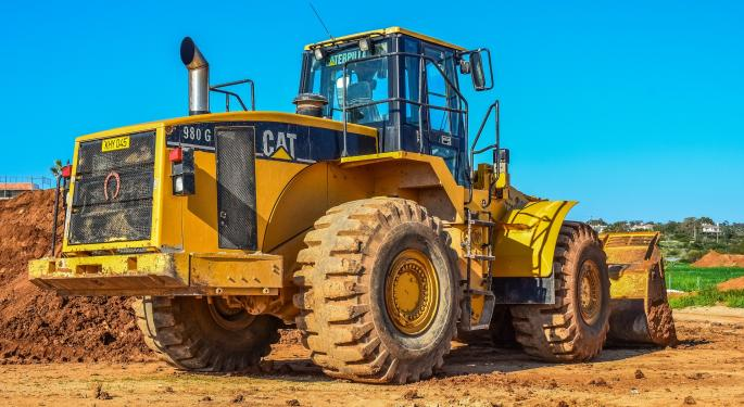 Strength In Mining Business Powers Caterpillar First-Quarter Results To Record